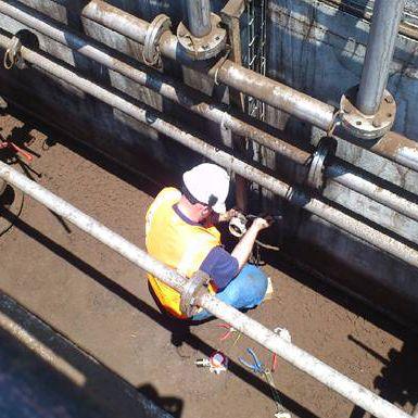 Detección fija de gases