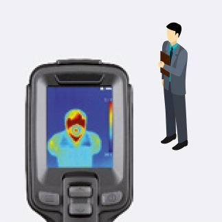 alarma al detectar temperatura anormal
