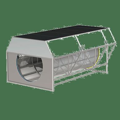 Filtros de tambor de microtejido transparente